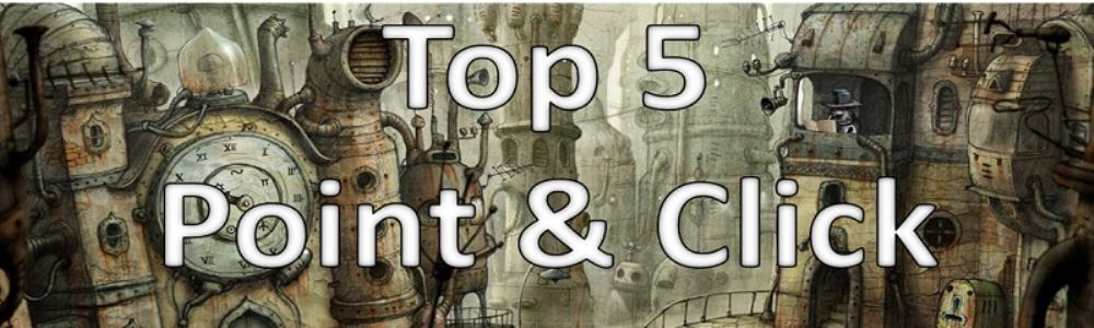 Top 5 Point and Click Adventure Games