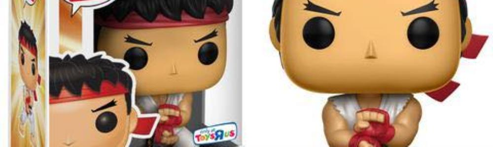 Four New Street Fighter Funko Pop Retailer Exclusives Unveiled
