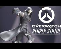 Blizzard Official Limited Edition Overwatch Reaper Statue Wave 1 Unboxed!