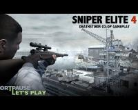 Sniper Elite 4 Deathstorm Pt. 1: Inception | PlayStation 4 Co-op Gameplay