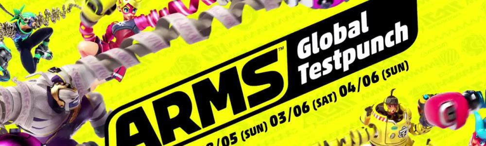 ARMS - Global Testpunch Announcement Trailer